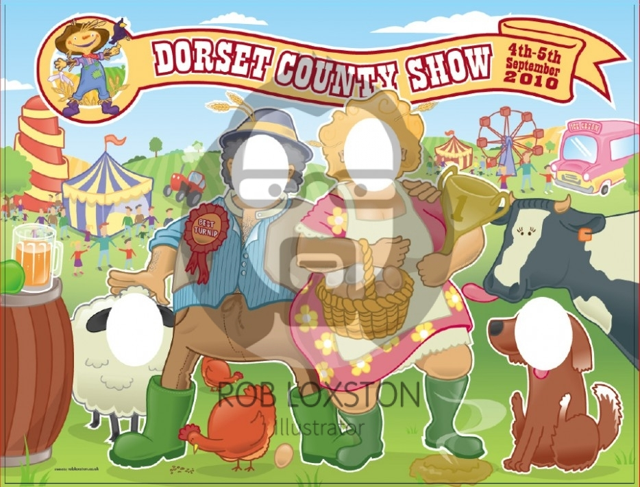 Dorset Show by Rob Loxston